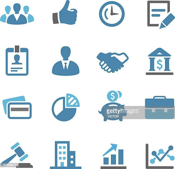 Business Icon Set - Conc Series