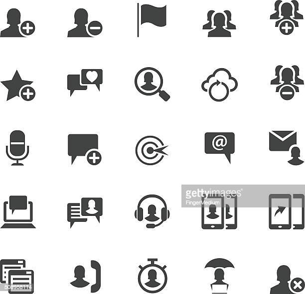 Ensemble d'icônes d'affaires