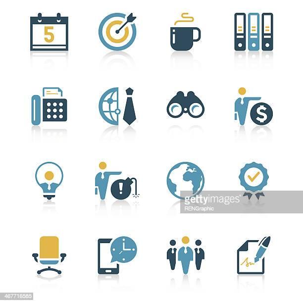 Business Icon Set | Vivid Series