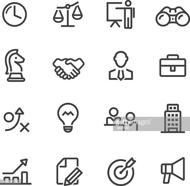 Business Icons-Line Serie