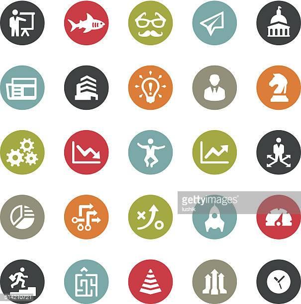 Business icons / Ringico series