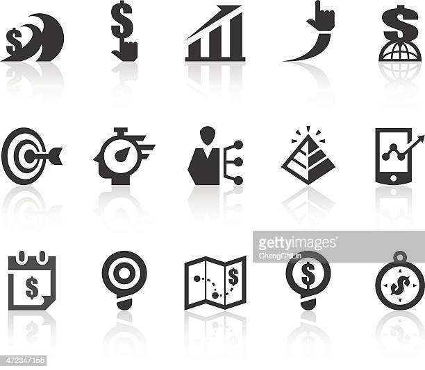 Business II Icons | Simple Black Series