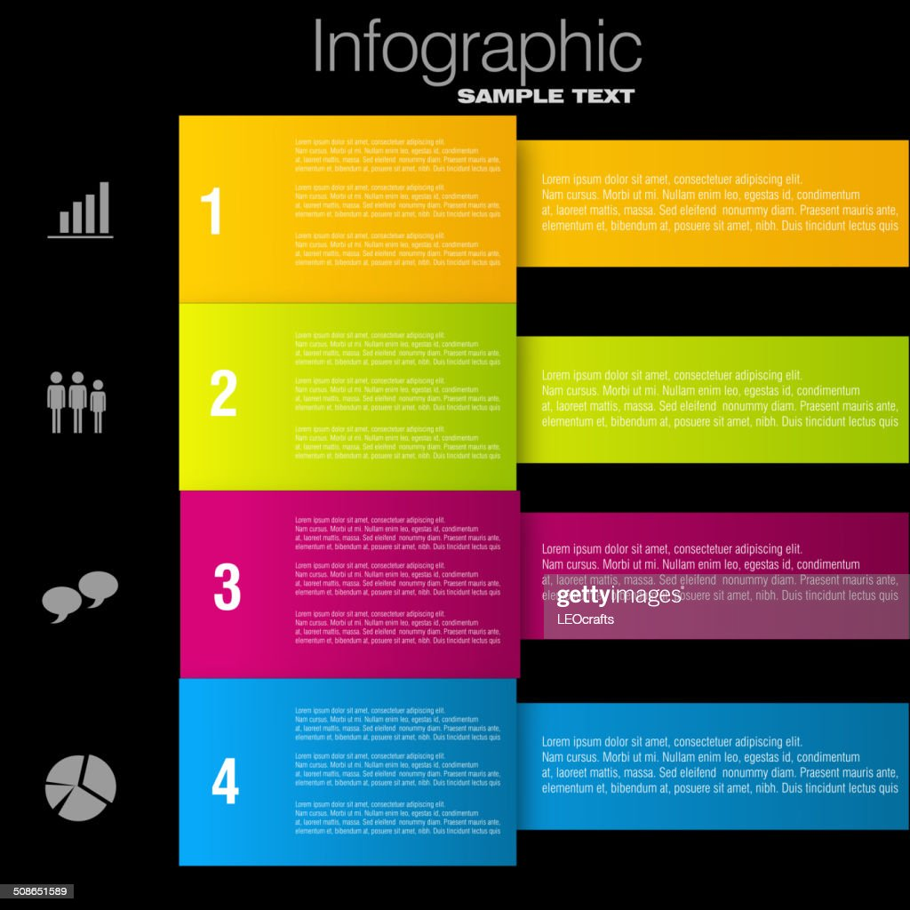 Business infographic design : Vector Art