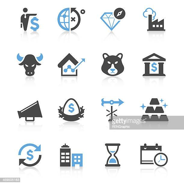 Business & Investment Icon Set | Concise Series