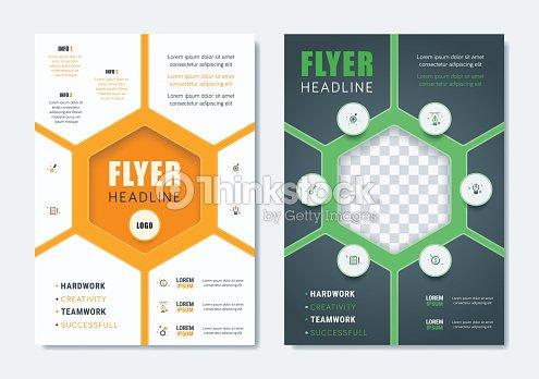 725006019ab37 Plantilla de folleto moderno de negocios. Minimalista limpio Flyer folleto  tapa revista diseño en tamaño