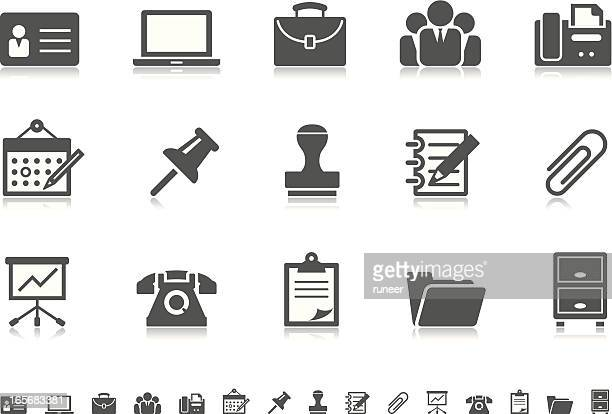 Business & Office icons | Pictoria series