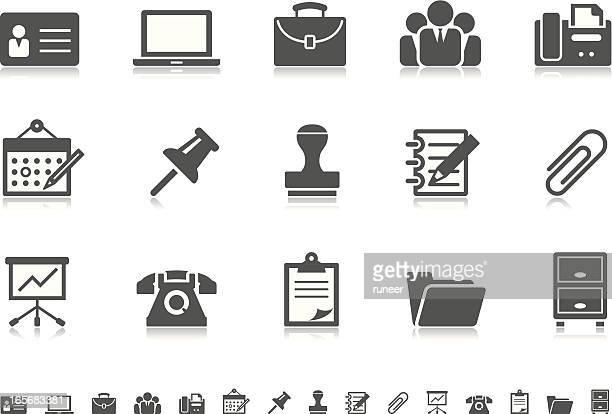 Business & Büro Symbole/Pictoria series