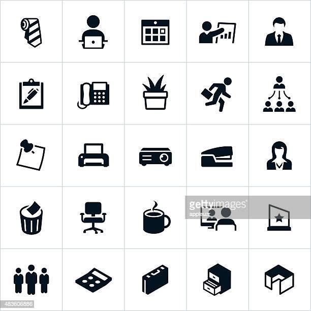 Business Büro Symbole