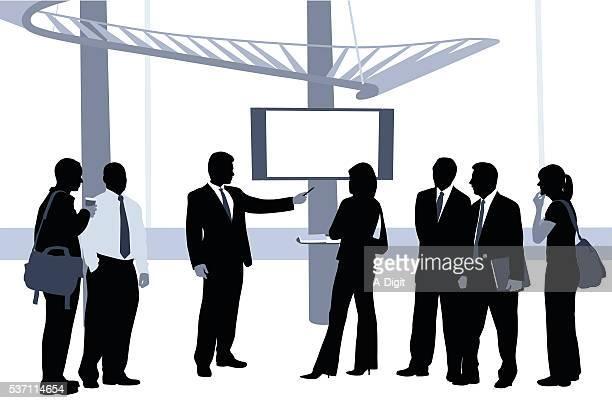 Business Presentation Blue