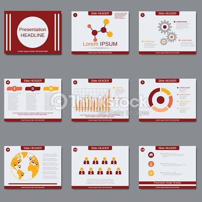 pr sentation daffaires vecteur mod le de conception de diaporama clipart vectoriel thinkstock. Black Bedroom Furniture Sets. Home Design Ideas