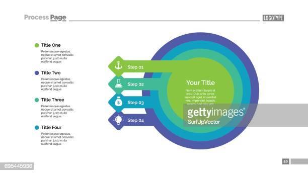 Business Step Diagram Slide Template