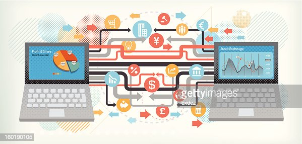 Business technology : Vectorkunst