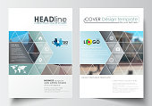 Business templates for brochure, magazine, flyer, booklet or annual report. Cover design template, easy editable blank, abstract flat layout in A4 size. Abstract business background, blurred image, ur