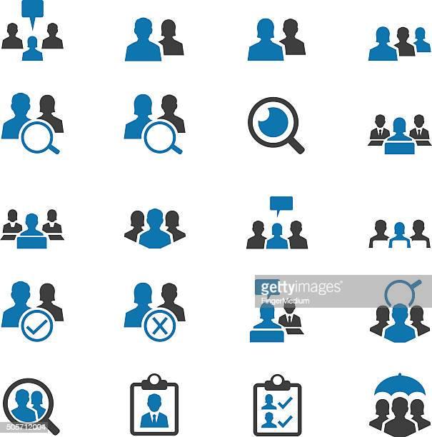 set di icone utente Business