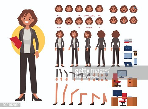 business woman : Vector Art