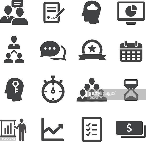 Business Workflow Icon - Acme Series