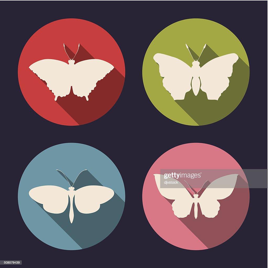 Schmetterling-design : Vektorgrafik
