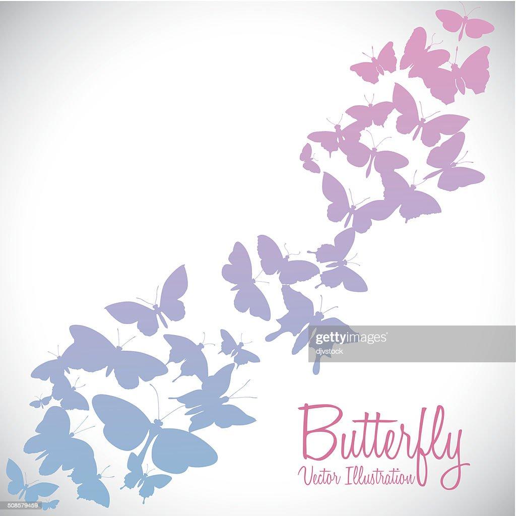 Butterfly design : Vektorgrafik