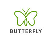 butterfly, beauty, vector, icon