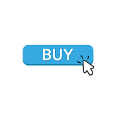 button buy vector flat design