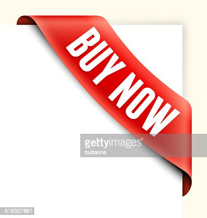 Buy Now Red Shopping Banner Vector Art  Getty Images