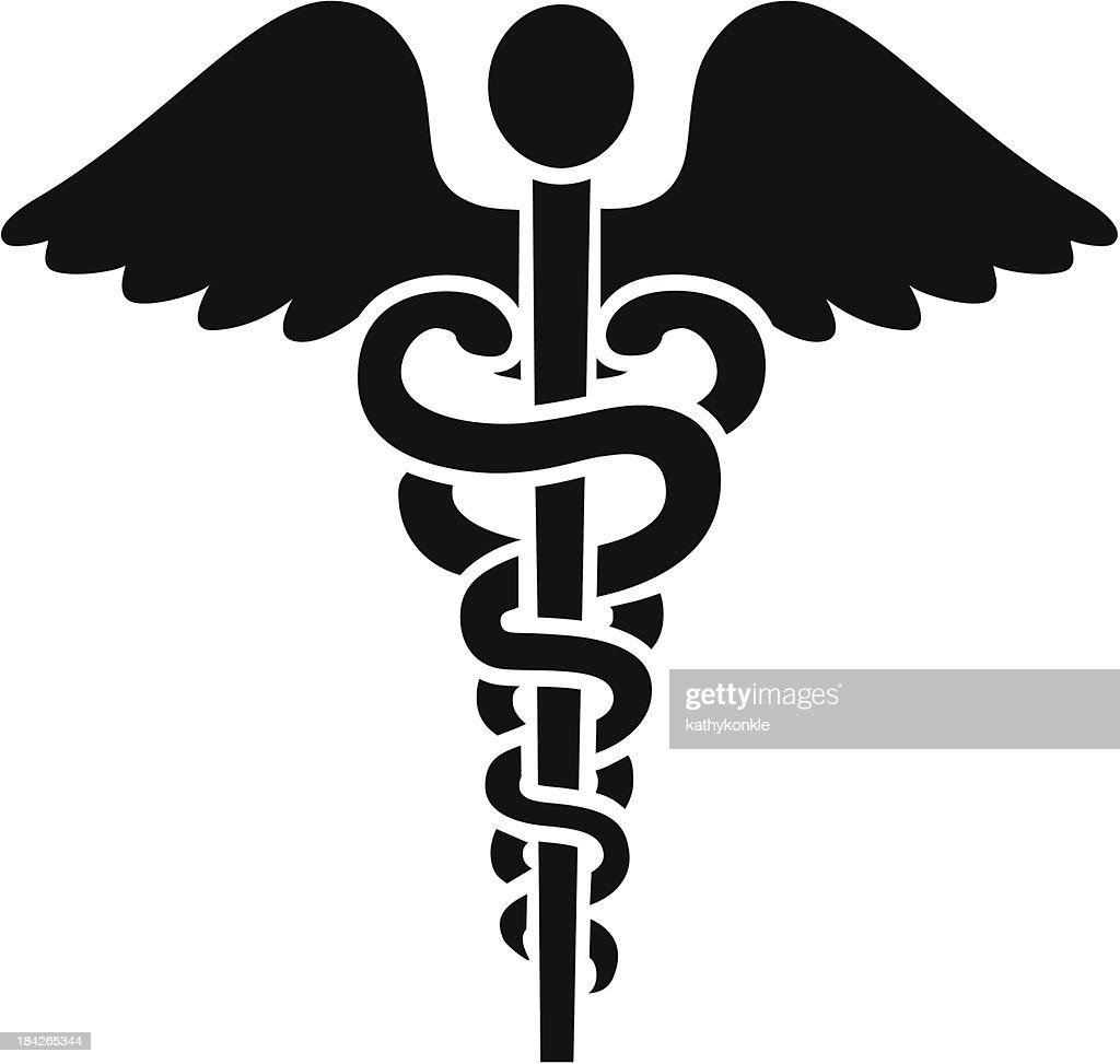 caduceus medical symbol vector art getty images