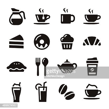 Cafe icons : stock vector