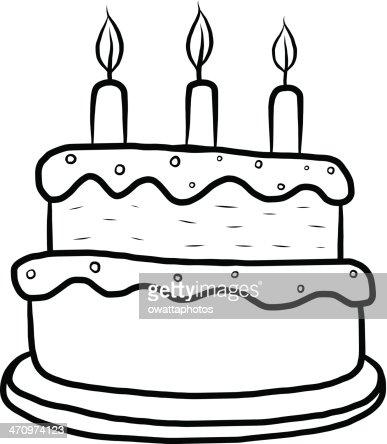 gâteau dessin animé clipart vectoriel | thinkstock