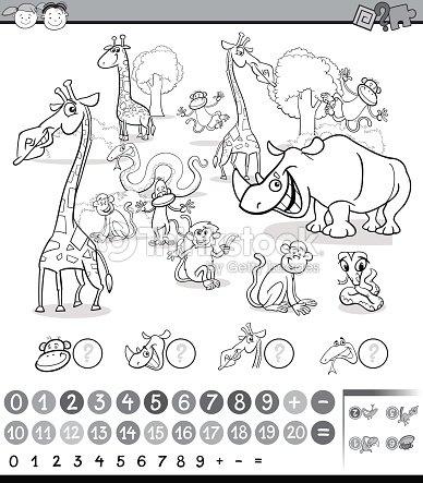 Cálculo De La Actividad De Los Animales Arte vectorial | Thinkstock