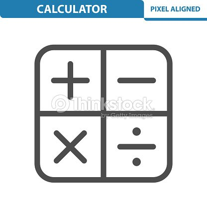 Calculator Icon Vector Art | Thinkstock