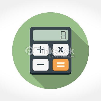 Taschenrechner Symbol Vektorgrafik Thinkstock