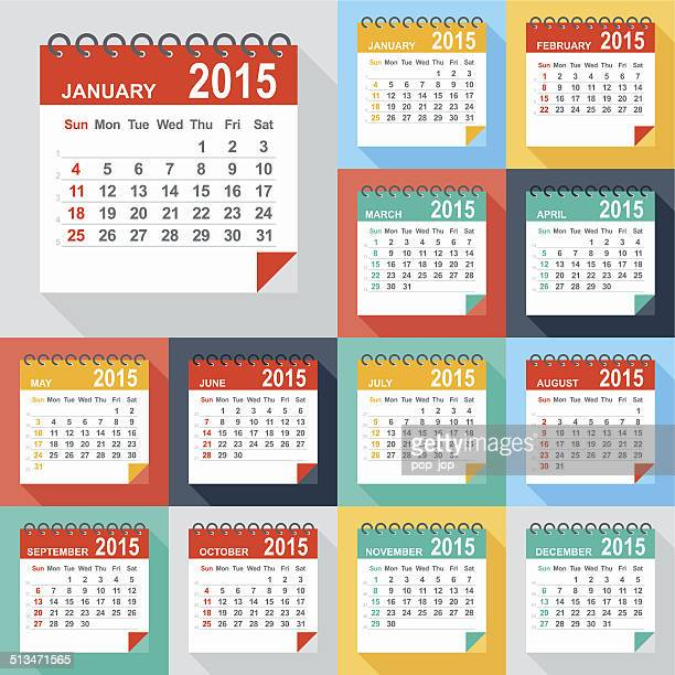 Calendar 2015 - Illustration