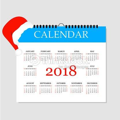 calendar 2018 simple calendar template for year 2018 tear off calendar for 2018