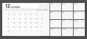 Calendar 2018 week start on Monday. Calendar planner corporate design template.