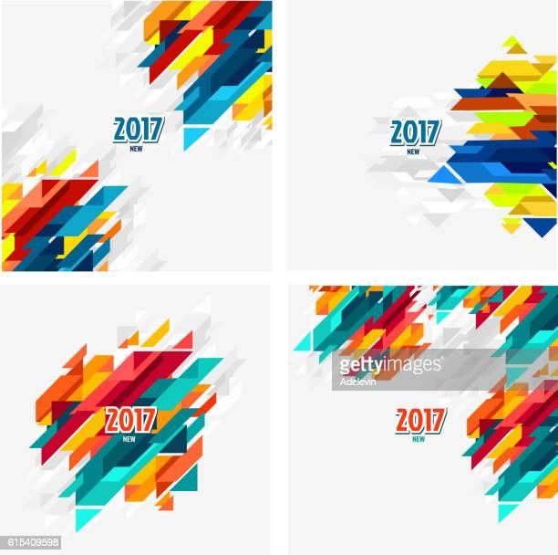 2017 Calendar background