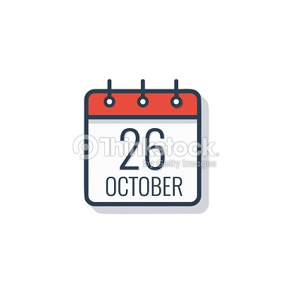 Calendario Vector Blanco.Icono De Calendario Dia Aislado Sobre Fondo Blanco