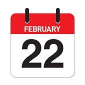 Calendar February 22