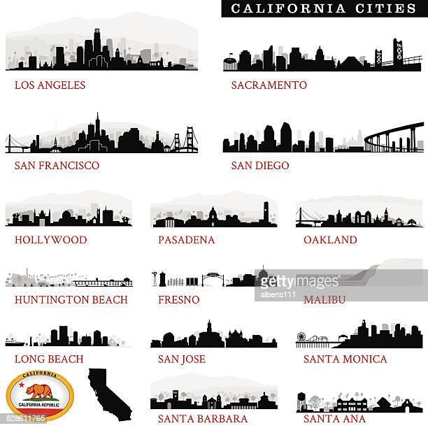 California Cities Detailed