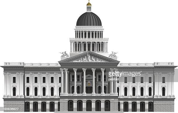 Government Building Stock Illustrations And Cartoons ...