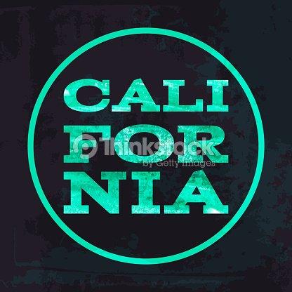 ba83138a California Surf Typography Tshirt Graphics Vectors Vector Art ...