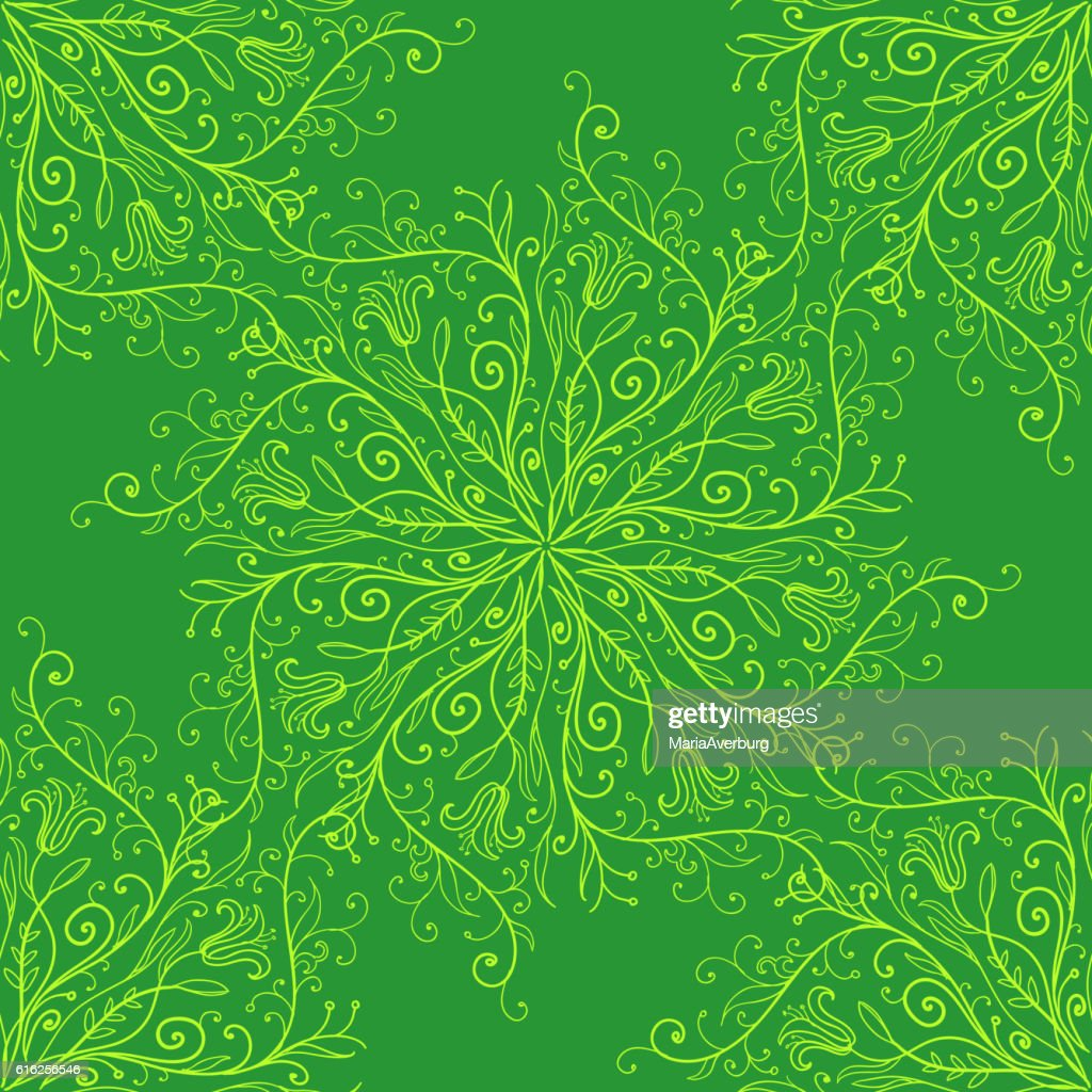 Calligraphy penmanship decorative seamless background. Vector illustration : Vector Art