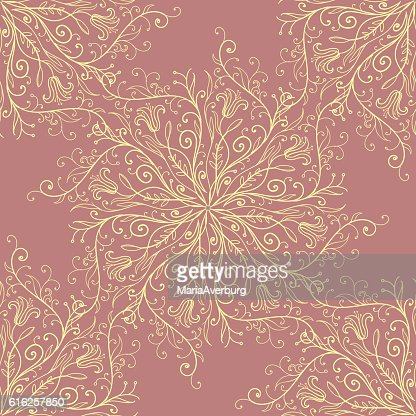 Calligraphy penmanship decorative seamless background. Vector illustration : Arte vectorial
