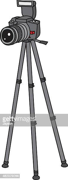 tripod stock illustrations and cartoons getty images. Black Bedroom Furniture Sets. Home Design Ideas