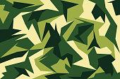 Camouflage background for Your design or presentation. Vector illustration.