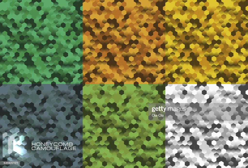 Camouflage seamless pattern : Vector Art