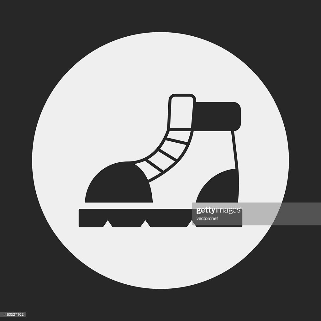 camping boot-Symbol : Vektorgrafik