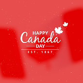 canada day greeting background