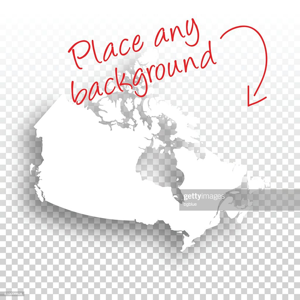 Canada Map For Design Blank Background Vector Art Getty Images