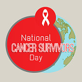 nice and beautiful abstract or poster for Cancer Survivors Day with nice and creative design illustration.