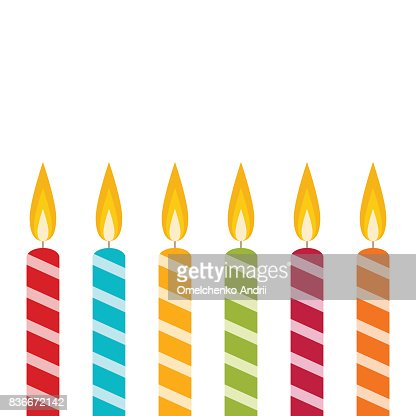 Candle : stock vector